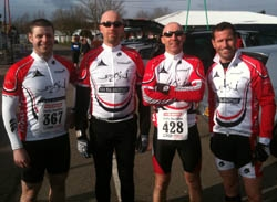 Chilly Duathlon Feb '11 - RACE REPORT