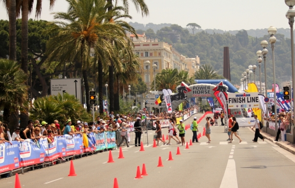 Ironman France 2012, Run