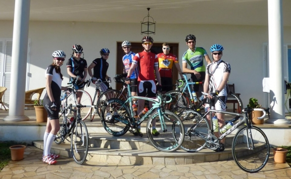 Training in Mallorca and injury frustrations