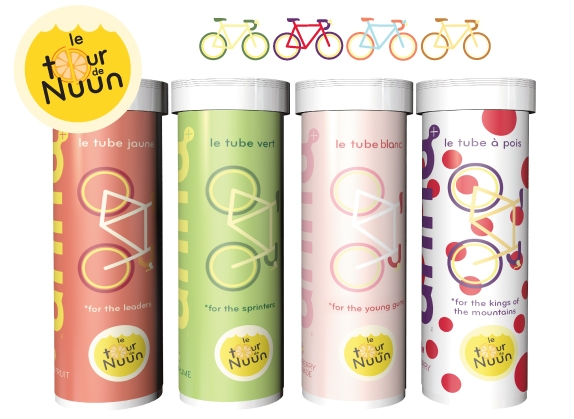 Win special edition �tour de nuun� packs and stay hydrated!