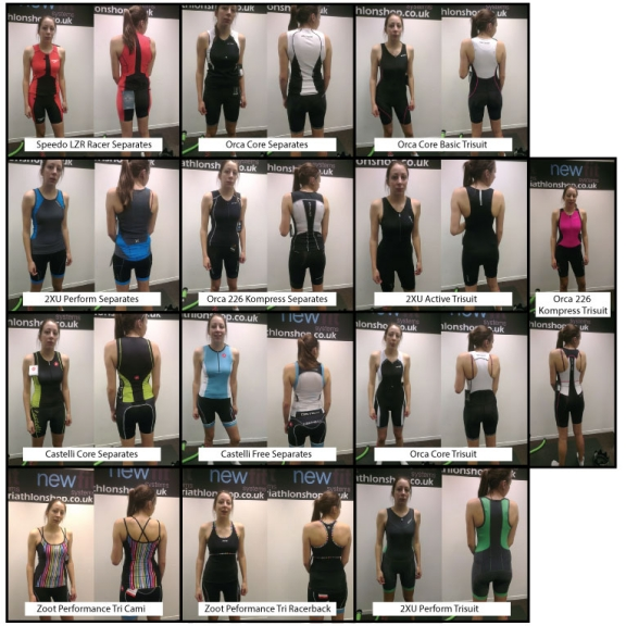A morning of wearing 13 different lycra outfits
